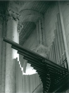 orgue de la prieurale de Cunault
